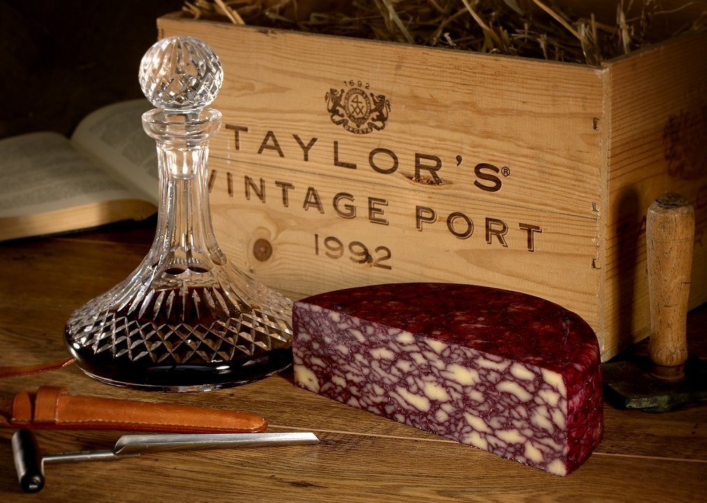 Catalogue shoot for Belton Cheese. Port Wine Derby