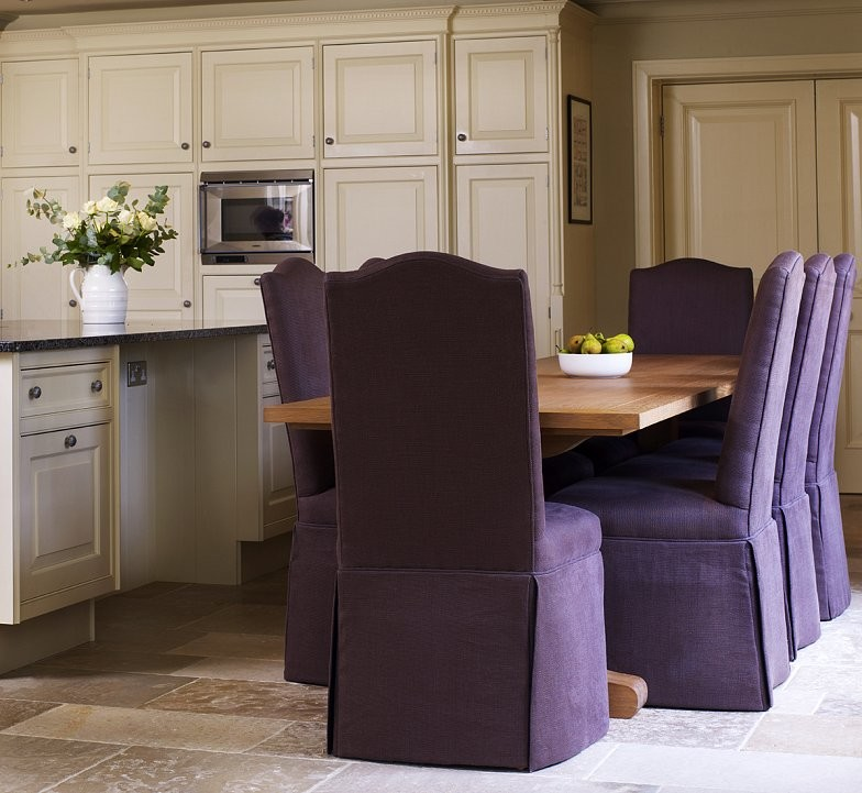 Location shoot for interior designer, showing dining chairs